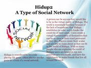 Hidup2_A Type of Social Network
