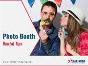 Tips for Photo Booth Rental in Los Angeles
