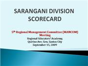 Education Updates Sarangani