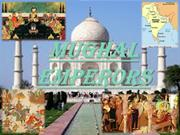ppt on mughal emperors