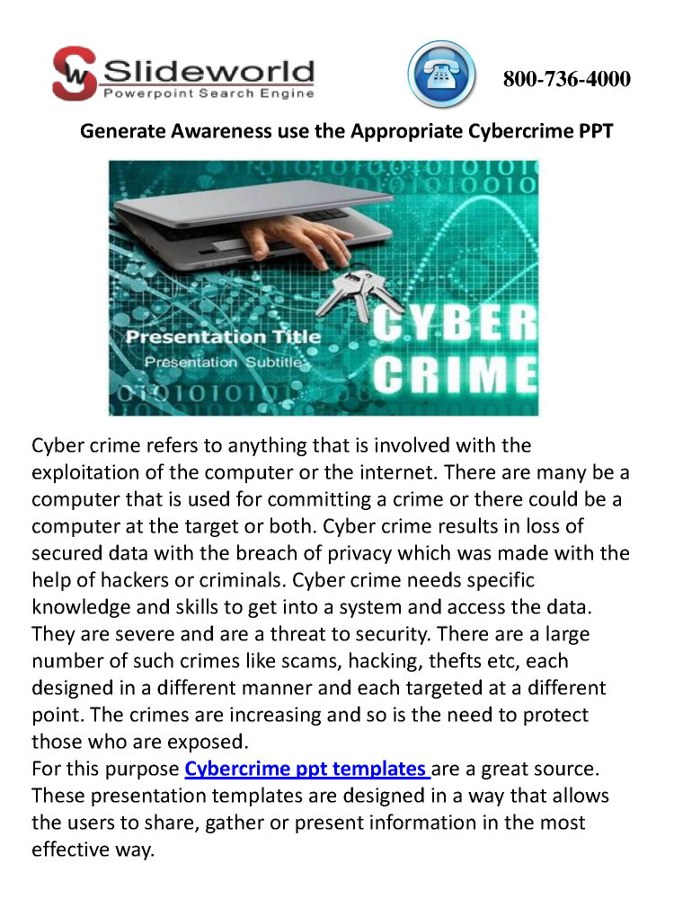 Essays on cyber crime
