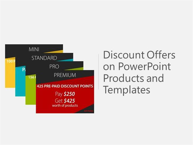 Discount Offers On Powerpoint Products And Templates Authorstream