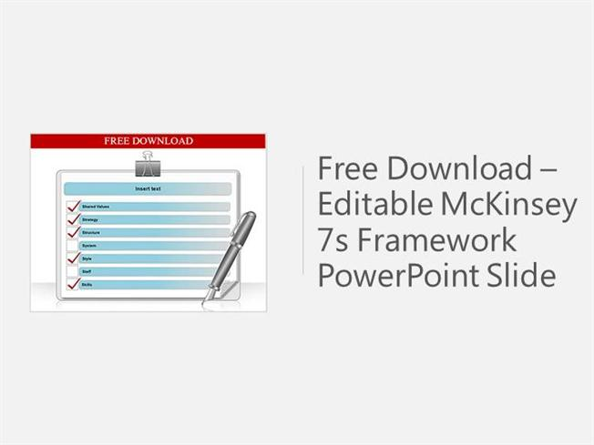 free download 7s framework powerpoint template |authorstream, Powerpoint templates