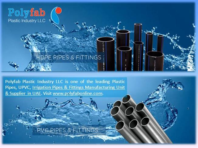 UPVC Pipes & Fittings UAE |authorSTREAM