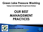 GLPW Best Management Practices, Seattle