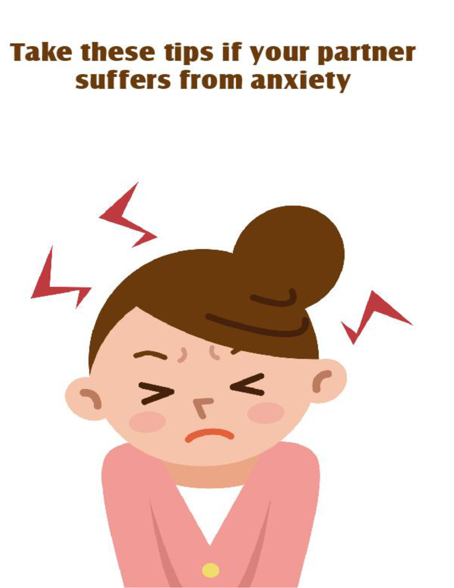 how to help a partner with anxiety