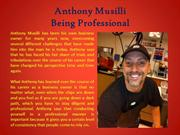 Anthony Musilli_Being Professional