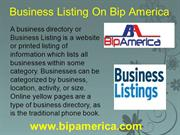 Free Online Business Listing