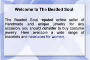 The Beaded Soul reputed online shop to buy handmade Rhinestone jewelry