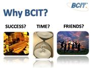 Why BCIT?