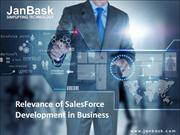 Relevance of SalesForce Development in Business | JanBask