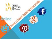 The Best Free Betting Tips for Cricket in India