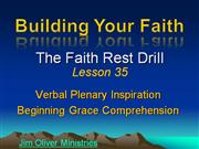 Building Your Faith Lesson 35