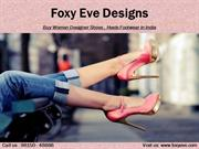 Women Designer Footwear Ludhiana | Buy High Heels Footwear in India