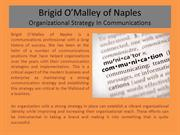 Brigid O'Malley of Naples Organizational Strategy In Communications