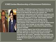 ICMEI Invites Membership at Edutainment Exhibition