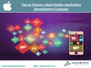 Tips to Choose a Best Mobile Application Development