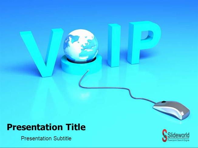 Voice Over IP-PowerPoint Template
