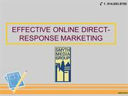 Effective Online Direct-Response Marketing