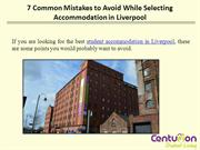 7 COMMON MISTAKES TO AVOID WHILE SELECTING ACCOMMODATION IN LIVERPOOL