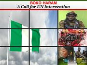Boko Haram  - A Call for UN Intervention