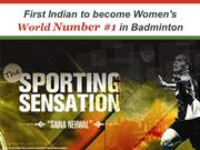 Saina Nehwal - World No. 1