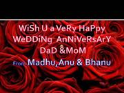 Happy Wedding Anniversary
