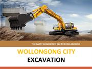 Proficient excavating contractor in Albion Park