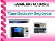 Time Clocks For Employees – The Manual Attendance Days Are Over