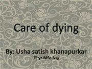 care of dying