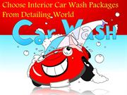 Choose Interior Car Wash Packages from Detailing World