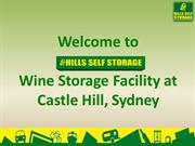 Wine Storage Facility in Castle Hill, Sydney