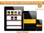 3 Tips for App Store Optimization for your App