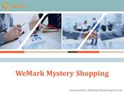 WeMark Mystery Shopping:Best Mystery Shopping Company in India
