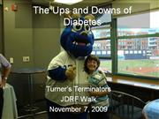The Ups and Downs of Diabetes