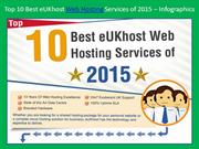 Top 10 Best eUKhost Web Hosting Services of 2015 – Infographics