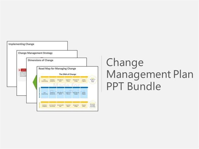 Change Management Plan Bundle Powerpoint Presentation Authorstream