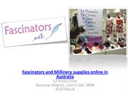 Fascinators and Millinery supplies Online - Fascinators.net