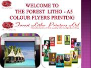 Business a5 colour flyers printing online in uk