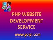 PHP Website Development Service