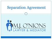 Separation Agreement Lawyer in Vancouver, BC
