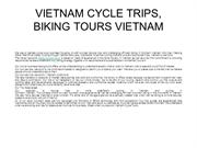 VIETNAM CYCLE TRIPS, BIKING TOURS VIETNAM ô