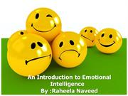 Emotional intelligence by Raheela Naveed