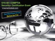 SY0-401 COMPTIA Exam Questions