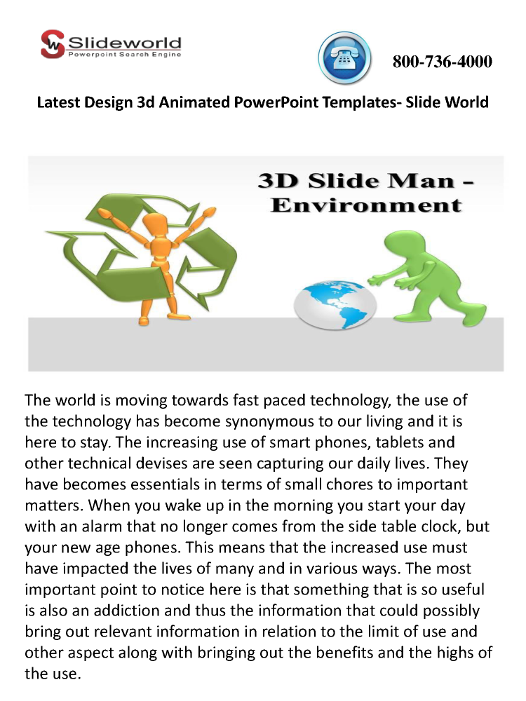 Latest Design 3d Animated Powerpoint Templates Authorstream