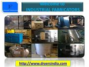 Fluid bed dryers Manufacturers and Suppliers.