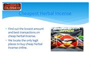 cheapest harbal incense