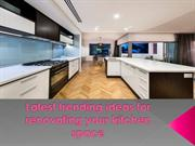 Latest trending ideas for renovating your kitchen space