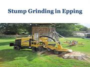 Stump Grinding in Epping