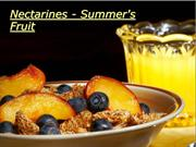 Nectarines - Summer's Fruit